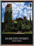 San Jose University Throw Blanket