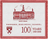 Harvard University, Business School 100 Throw Blanket