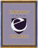 Emerson College, Seal Throw Blanket
