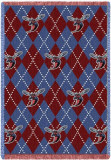 Delaware State University, Plaid Throw Blanket