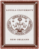 Loyola University, New Orleans Throw Blanket