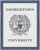 Georgetown University Throw Blanket