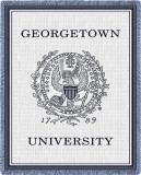 Georgetown University Throw Blanket