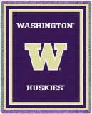 University of Washington, Logo Throw Blanket