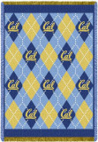 University of California, Berkeley Plaid Throw Blanket