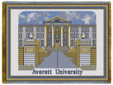 Averett University Throw Blanket