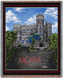 Arcadia University, Castle Throw Blanket