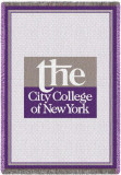City College of New York Throw Blanket