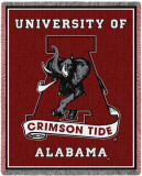 University of Alabama, Crimson Tide Throw Blanket
