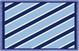 Spirit: Light and Dark Blue Throw Blanket