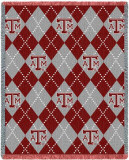 Texas A&M University, Plaid Throw Blanket