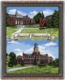 Howard University, Collage Throw Blanket