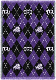 Texas Christian University, Plaid Throw Blanket