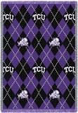 Texas Christian University, Plaid Throw Blanket