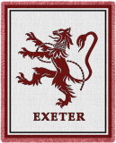 Exeter Academy Throw Blanket