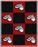 Rutgers University, Knight Checkerboard Throw Blanket