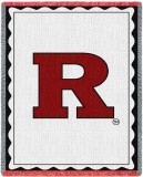 Rutgers University, Spirit Mark Throw Blanket