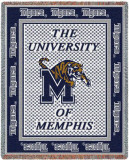 University of Memphis, Mascot Throw Blanket