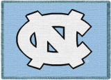 University of North Carolina, Logo Throw Blanket