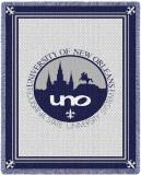 University of New Orleans, Logo Throw Blanket
