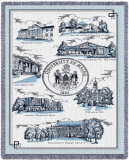 Universidade de Maine Throw Blanket