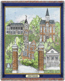 Auburn University, Collage Throw Blanket