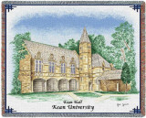 Kean University, Kean Hall Throw Blanket