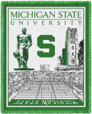 Michigan State University Throw Blanket