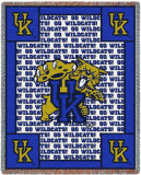 University of Kentucky, Go Wildcats Throw Blanket
