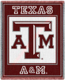 Texas A&M University, Initials Throw Blanket