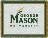 George Mason University Throw Blanket