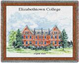 Elizabethtown College, Alpha Hall Throw Blanket