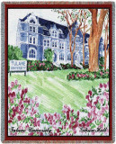 Tulane University, Gibson Hall Throw Blanket