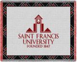 St Francis University, Logo Throw Blanket