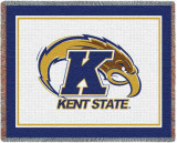 Kent State University, Athletic Logo Throw Blanket