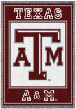 Texas A&M University, Logo Throw Blanket