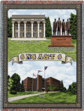 North Carolina A&T State University, Collage Throw Blanket