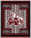 Mississippi State University, Go Mascot Throw Blanket