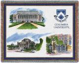 Columbia University, Collage Throw Blanket