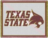 Texas State University Throw Blanket