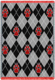University of New Mexico, Plaid Throw Blanket
