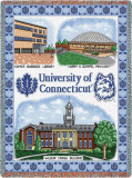 University of Connecticut, Collage Throw Blanket