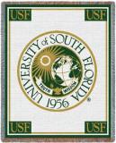 University of South Florida, Seal Throw Blanket