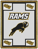 Virginia Commonwealth University, Rams Throw Blanket