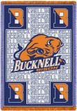 Bucknell University, Bison Throw Blanket