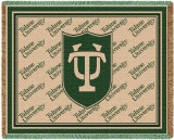 Tulane University, Seal Throw Blanket