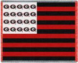 University of Georgia, Flag Throw Blanket