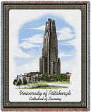 University of Pittsburgh, Cathedral of Learning Throw Blanket