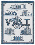 Virginia Military Institute Throw Blanket