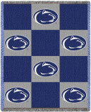 Penn State University, Checkerboard Throw Blanket